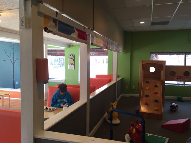 Cartwheels and Coffee Play Area