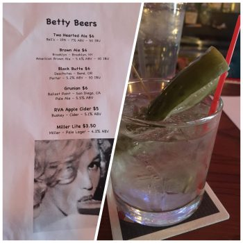 Betty on Davis Draft List and Pickle Drink