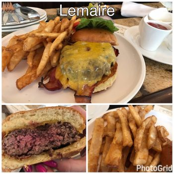 The Lemaire Burger and Fries
