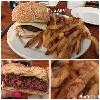 Pasture Burger and Fries